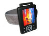 View Item BLACK Jogging Armband &amp; Skin Case Cover for Creative Zen 4gb 8gb 16gb &amp; 32gb + FREE SCREEN PROTECTOR
